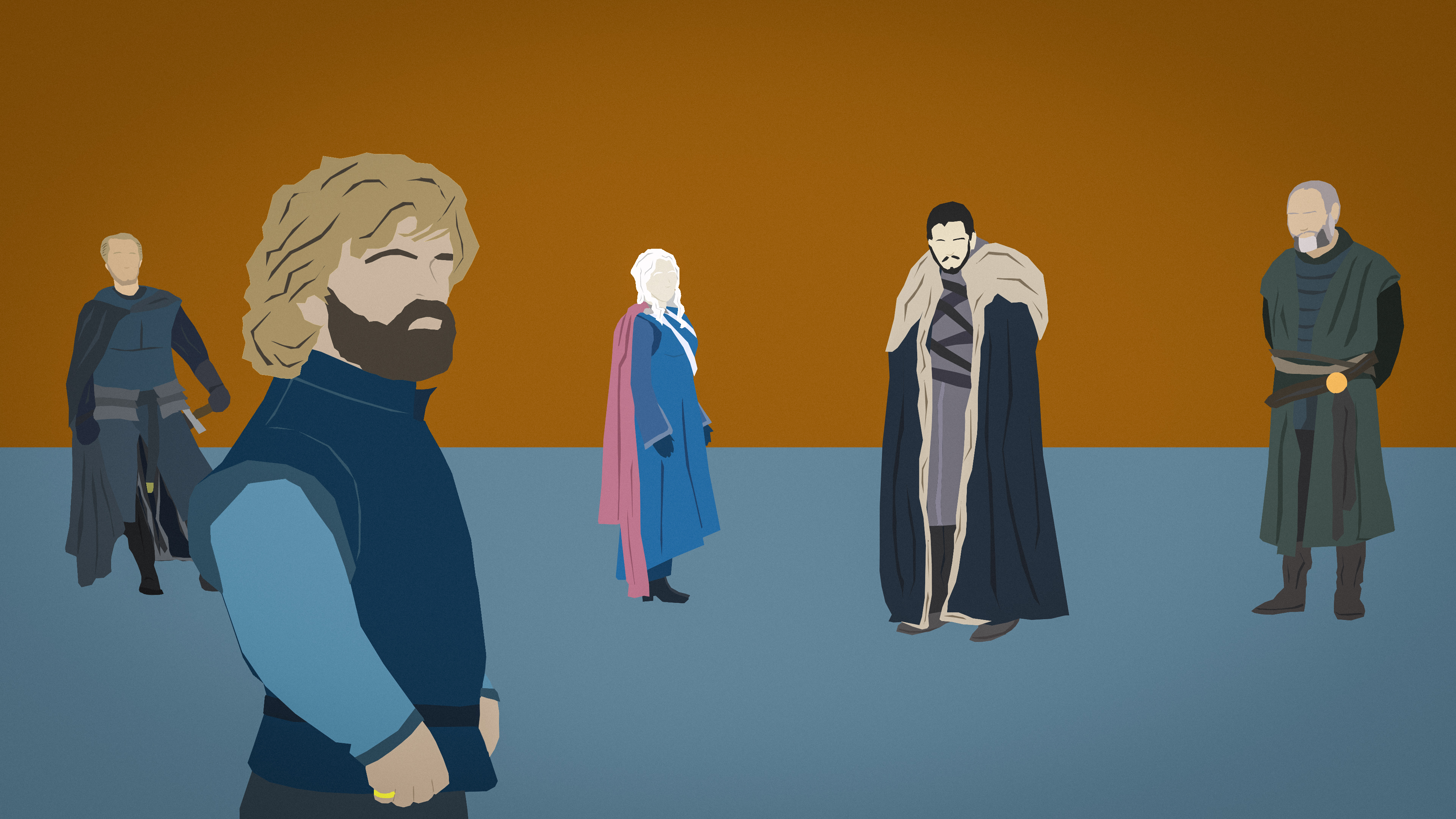 I Got Bored Today At Work And Made This Minimalist Desktop Background Of My Favorite Shot In The Got Finale First Throne Imagine John Lennon Minimal Wallpaper