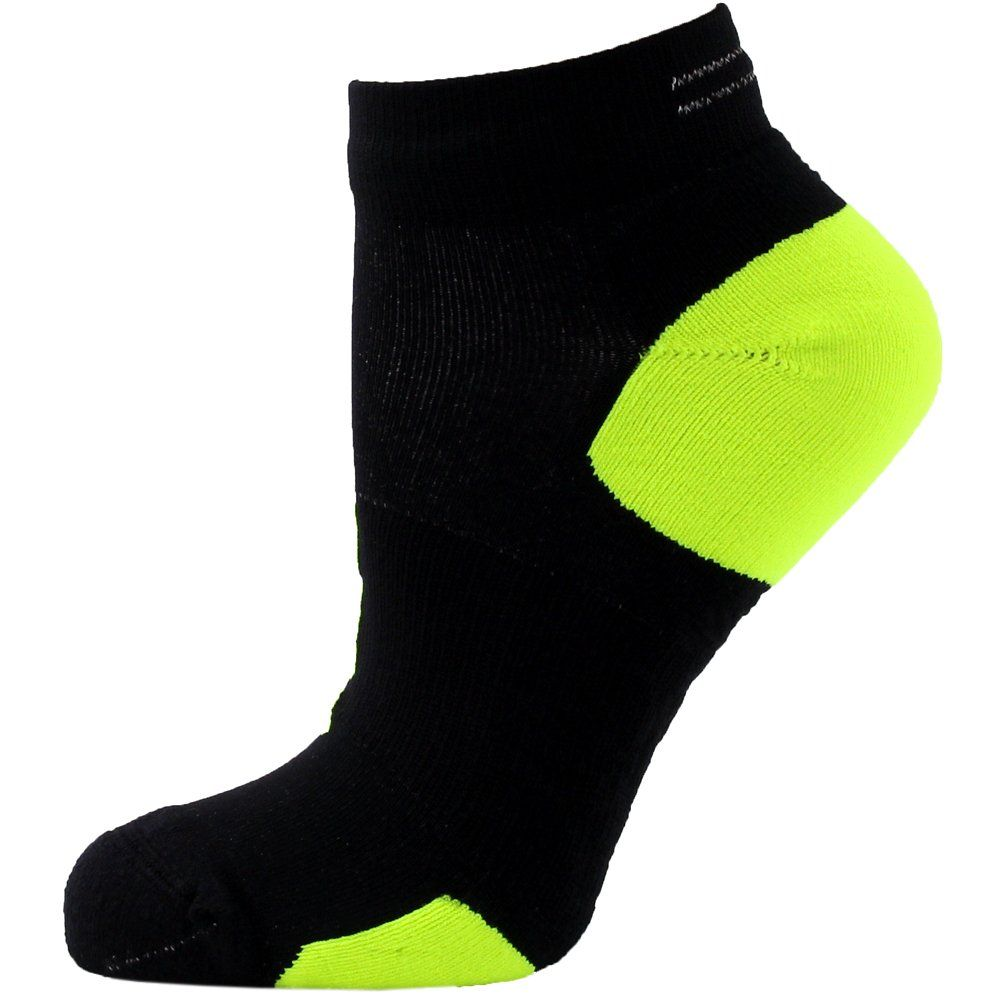 Excelente puenting leninismo  ASICS LiteShow Nimbus Low Socks Black/Neon Small *** You can find more  details by visiting the image link. (This is an affiliate li…   Socks, Yoga  socks, Black neon