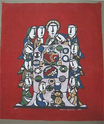 Last Supper By Sadao Watanabe