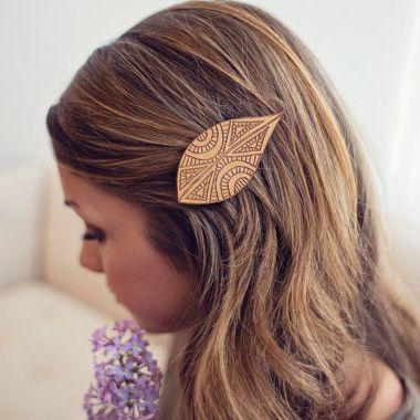 Tribal Leaf Hair Clip