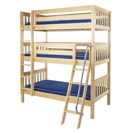 The Taylor Slatted Medium Bunk Bed Is A Fun And Functional Bunk Bed