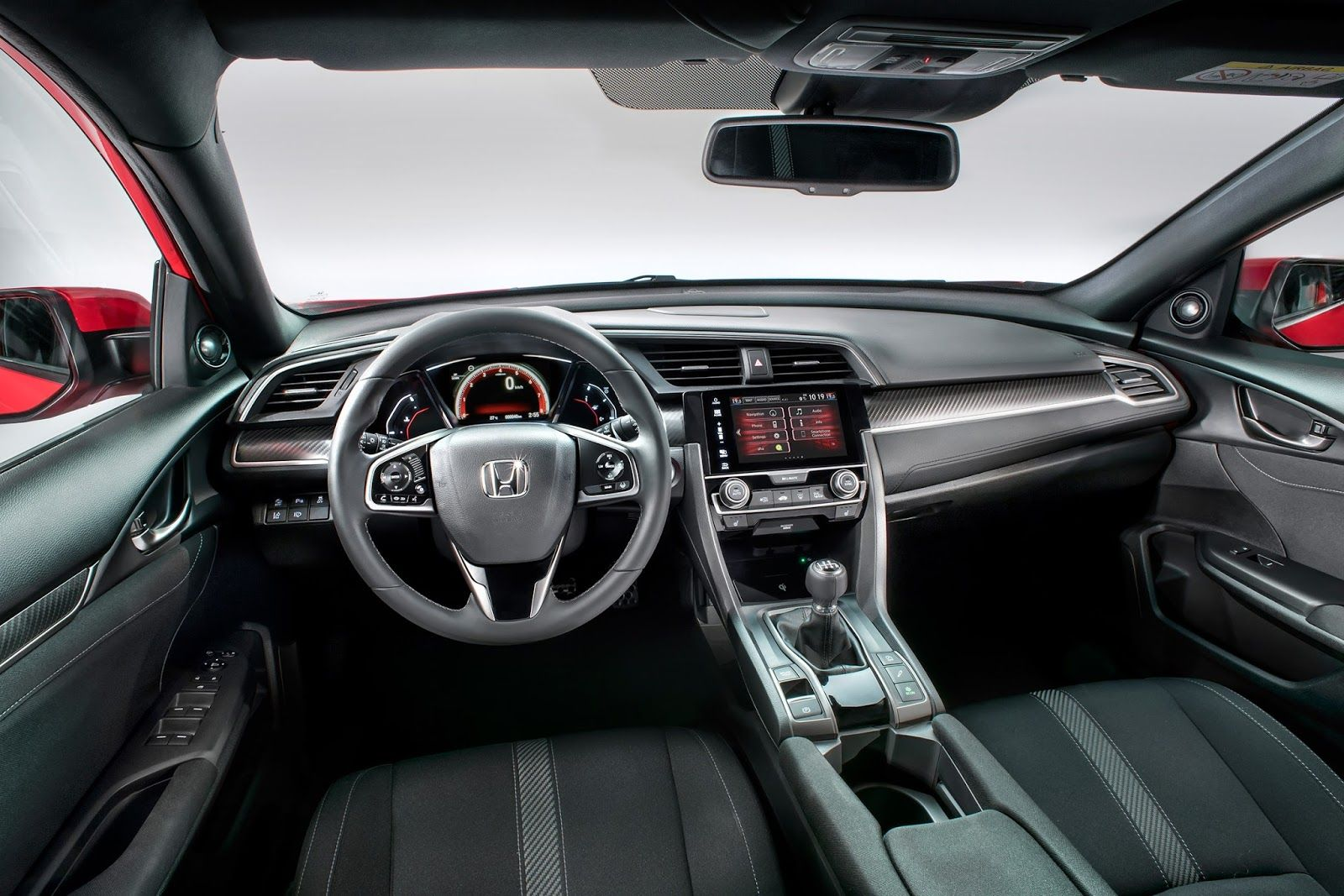 2017 Honda Civic Hatchback Interior Coupe