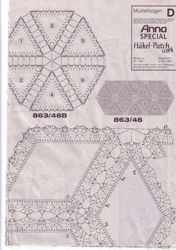 Burda Special Patchwork Croché - Barbara H. - Álbumes web de Picasa