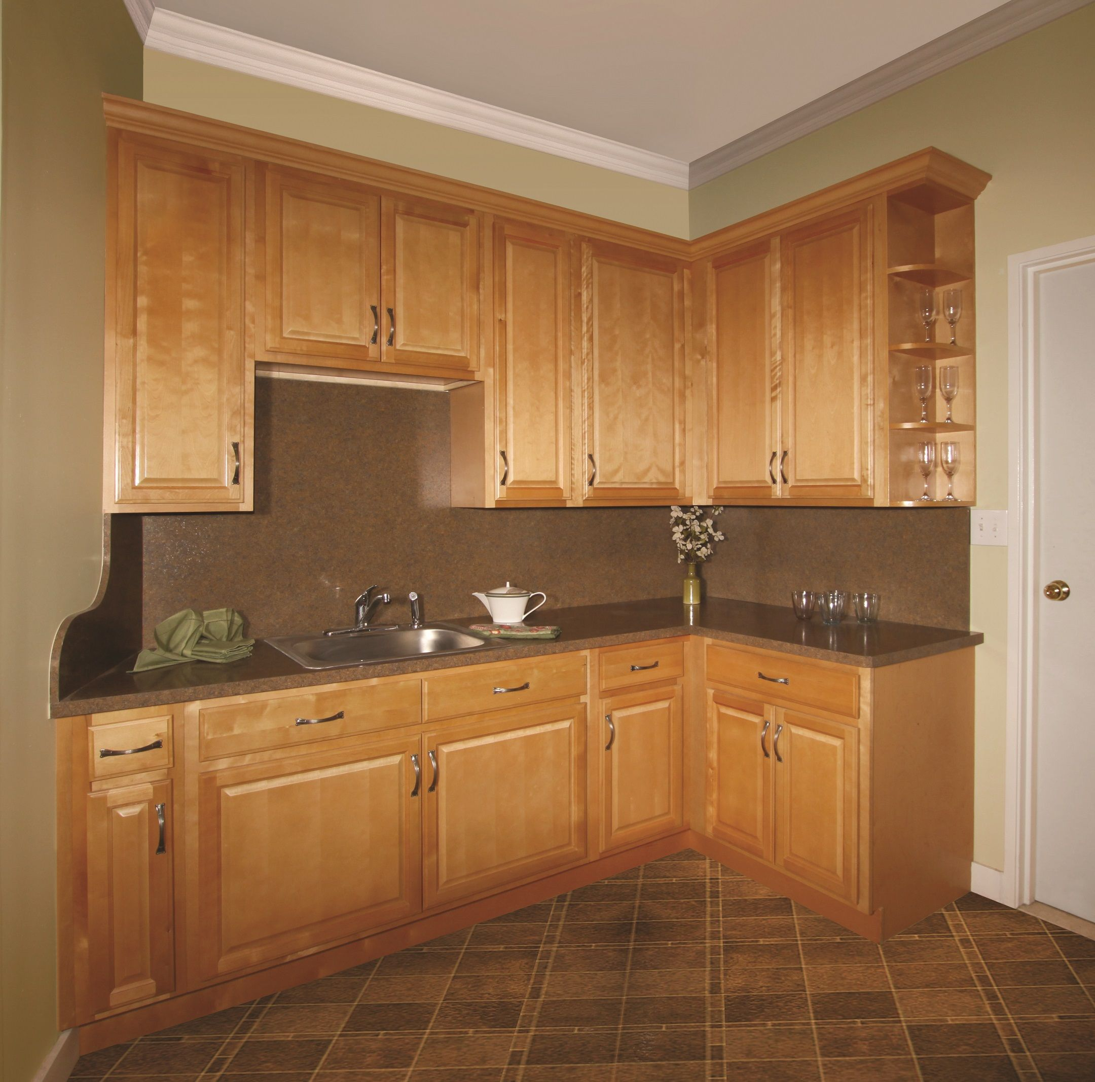 Landmark Natural Kitchen Vanity Kitchen Cabinets Kitchen Remodel Discount Kitchen Cabinets