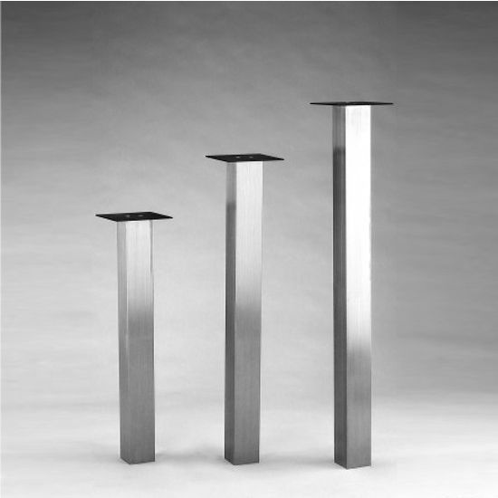 The Katrina Square 3 1/8u0027u0027 Column Table Legs By SteelBase Are A Great And  Stylish Way To Support Your Tables And Countertops. With A Square Profileu2026