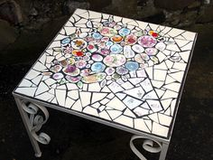 letter a projects mosaic table by tilson i usually these 6725