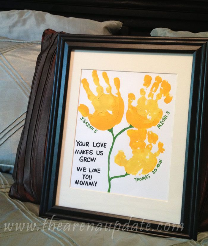 0655ded23a91 Simple Gift for Mom from Kids (Perfect for Mother s Day!) Arena Five  Your  Love Makes Us Grow
