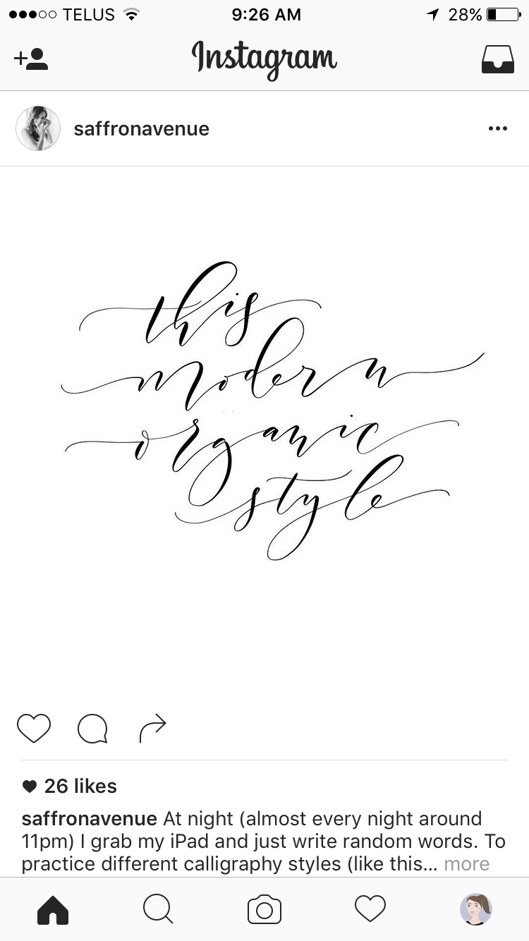 Pin By Ink And Dolly On Modern Calligraphy