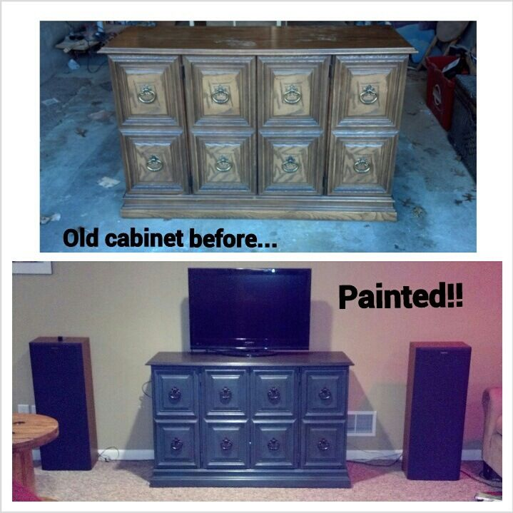 Before And After: Works Perfectly As Our Entertainment