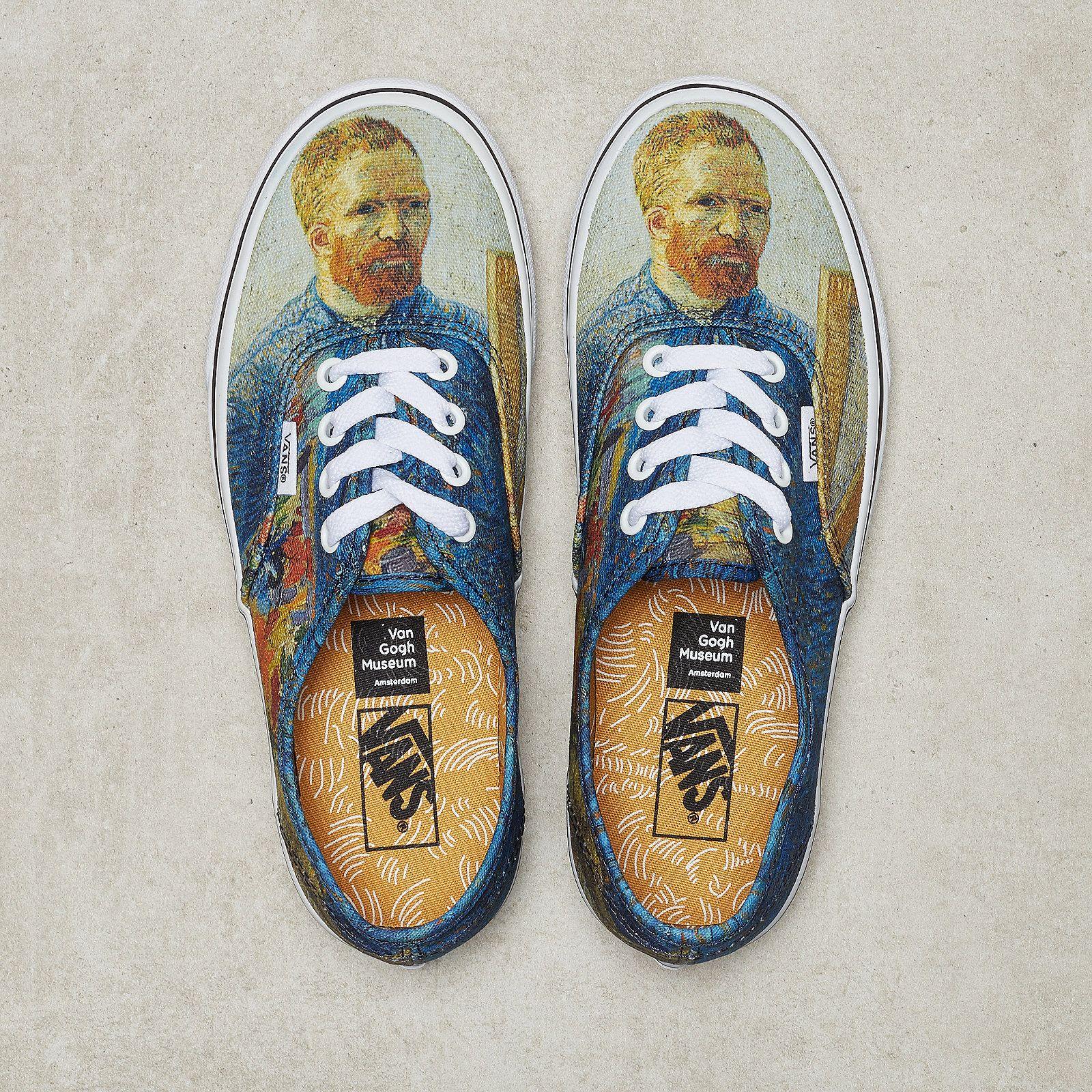 5ceb74409fc Vans Vans x Van Gogh UA Authentic self-portrait true white