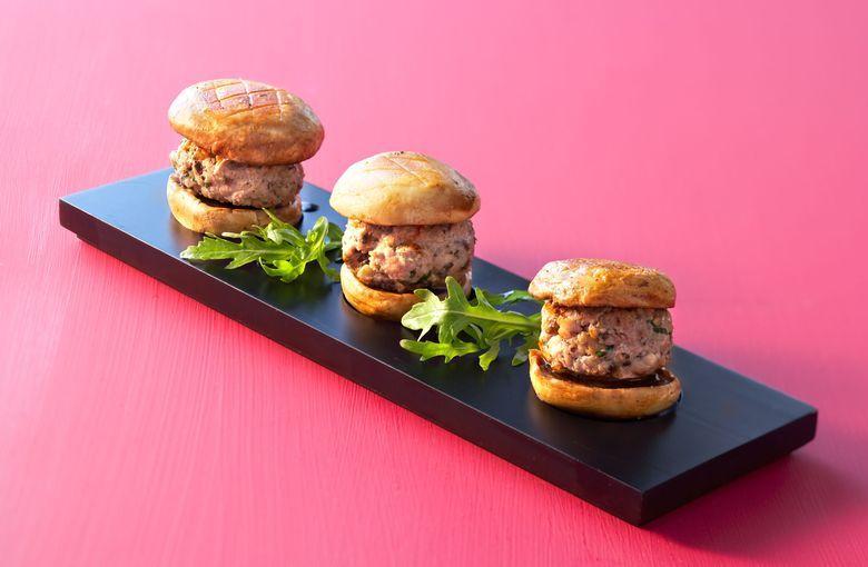 Hamburger veau parisien la plancha la for Viande a la plancha