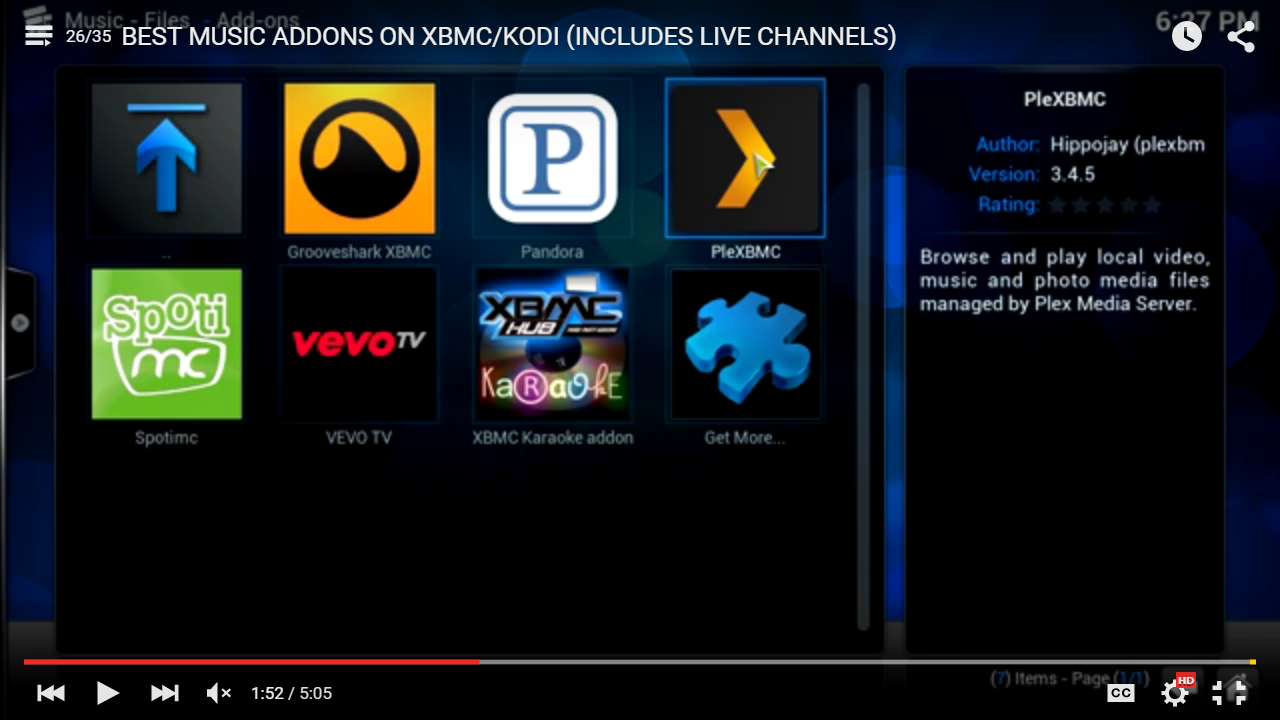 Best Music Addons for XBMC / Kodi TV Xbmc kodi, Kodi