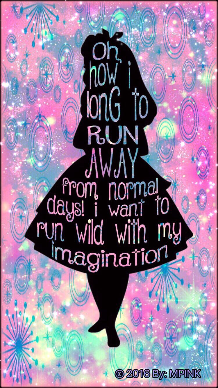 2016 Alice In Wonderland Galaxy Wallpaper Alice And Wonderland Quotes Wonderland Quotes Alice In Wonderland