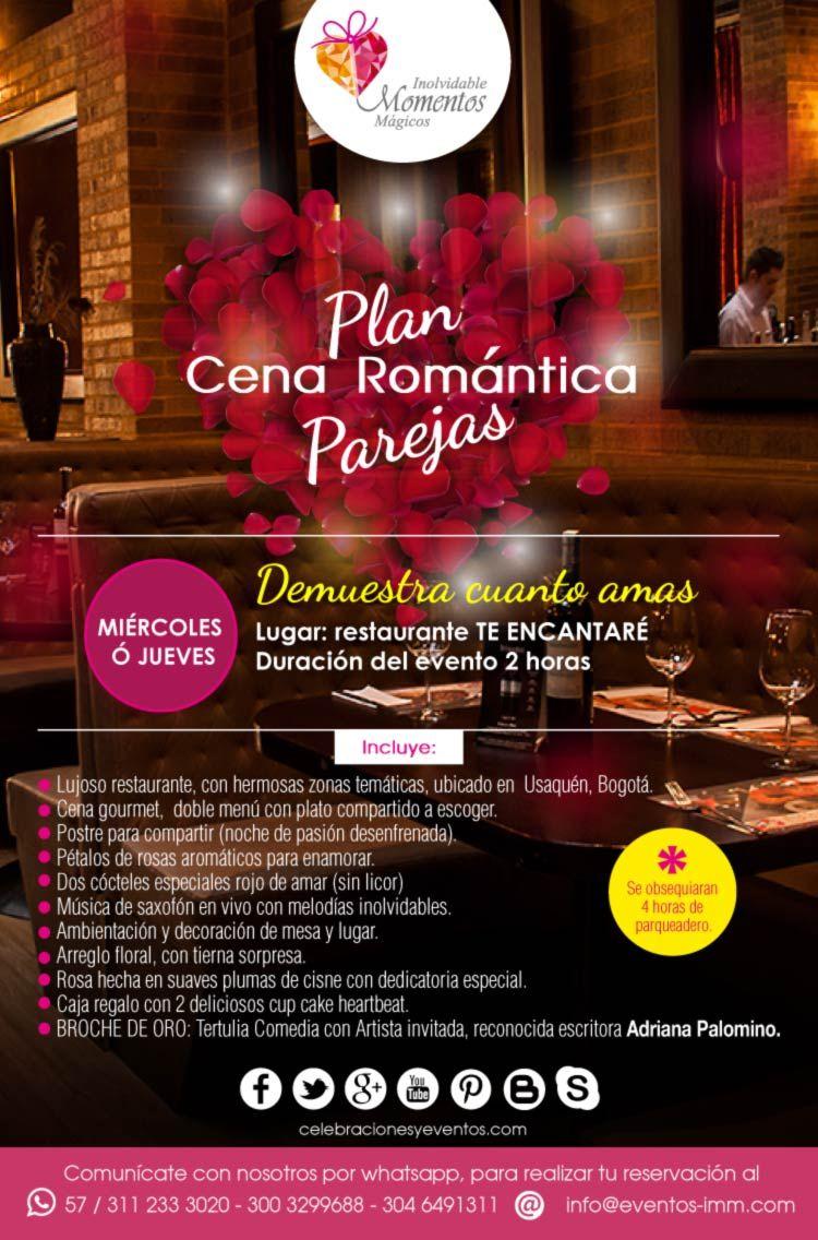 plan romantico para parejas en bogota