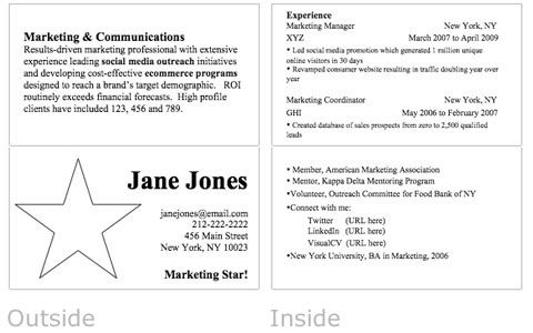 Eye Candy Business Card Resume cover letters, Business cards and - resume business cards
