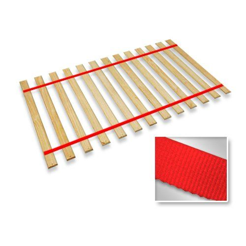 Best Full Size Attached Bed Slats Bunkie Boards Red Straps 400 x 300