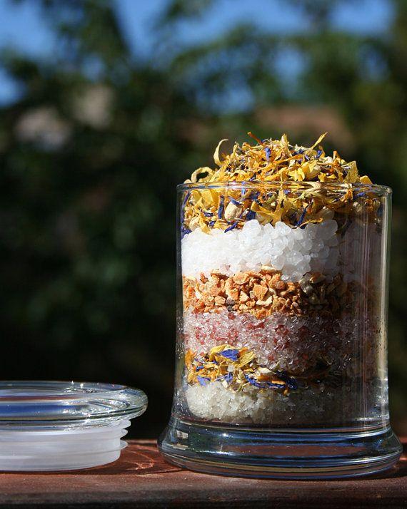 Aromatherapy Herbal Bath Salt & Foot Soak by AromatherapyJewelry, $26.00