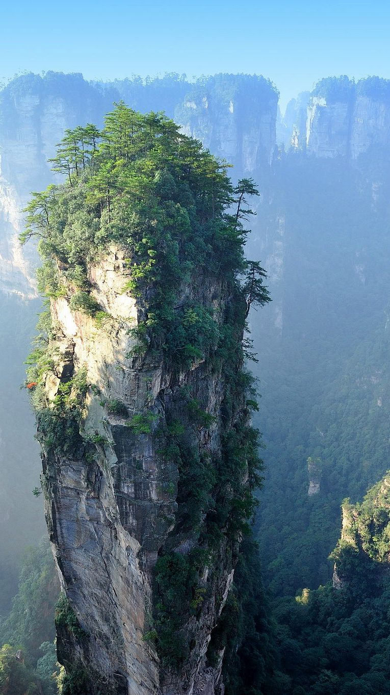 tianzi-mountains-china-iphone-wallpaper check more at http