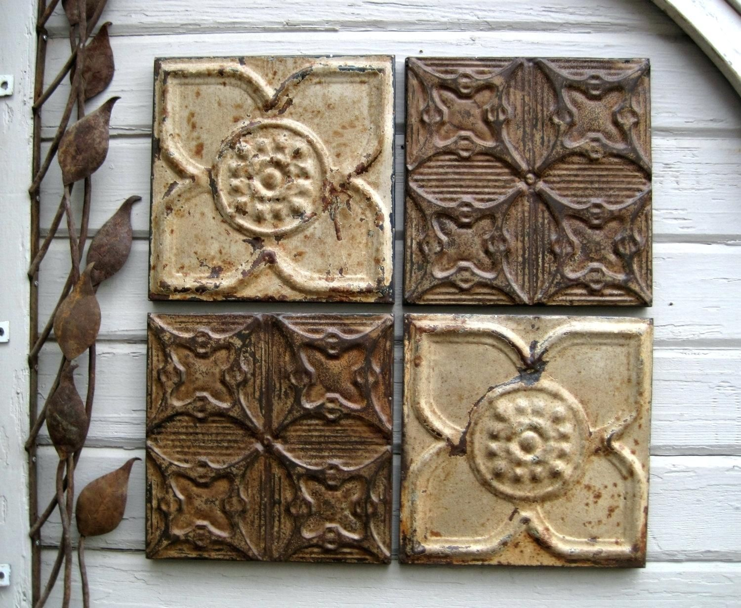 Antique ceiling tiles wall decor httpcreativechairsandtables antique ceiling tiles wall decor dailygadgetfo Image collections
