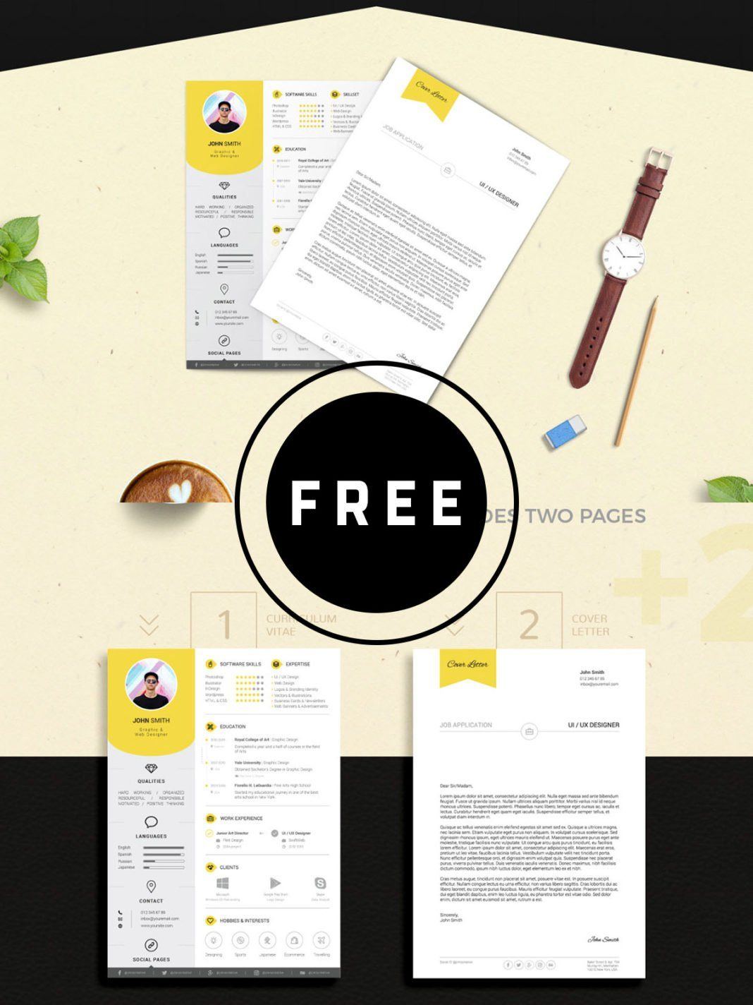 98 Awesome Free Resume Templates for 2019 Best resume