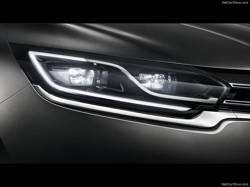 Renault Espace 2015 Lamp Headlamp Design Bmw Design Automotive Design
