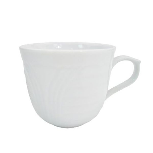Coupe Pattern 3.5 oz American White Espresso Cup/Case of 36