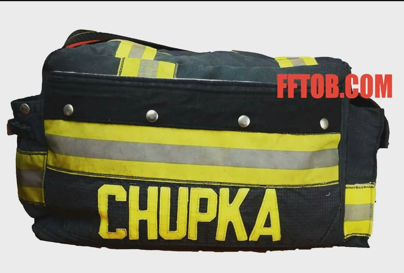 This Bag Is Built As Good It Looks Retired Recycled Turnout Bags Started Firefighter