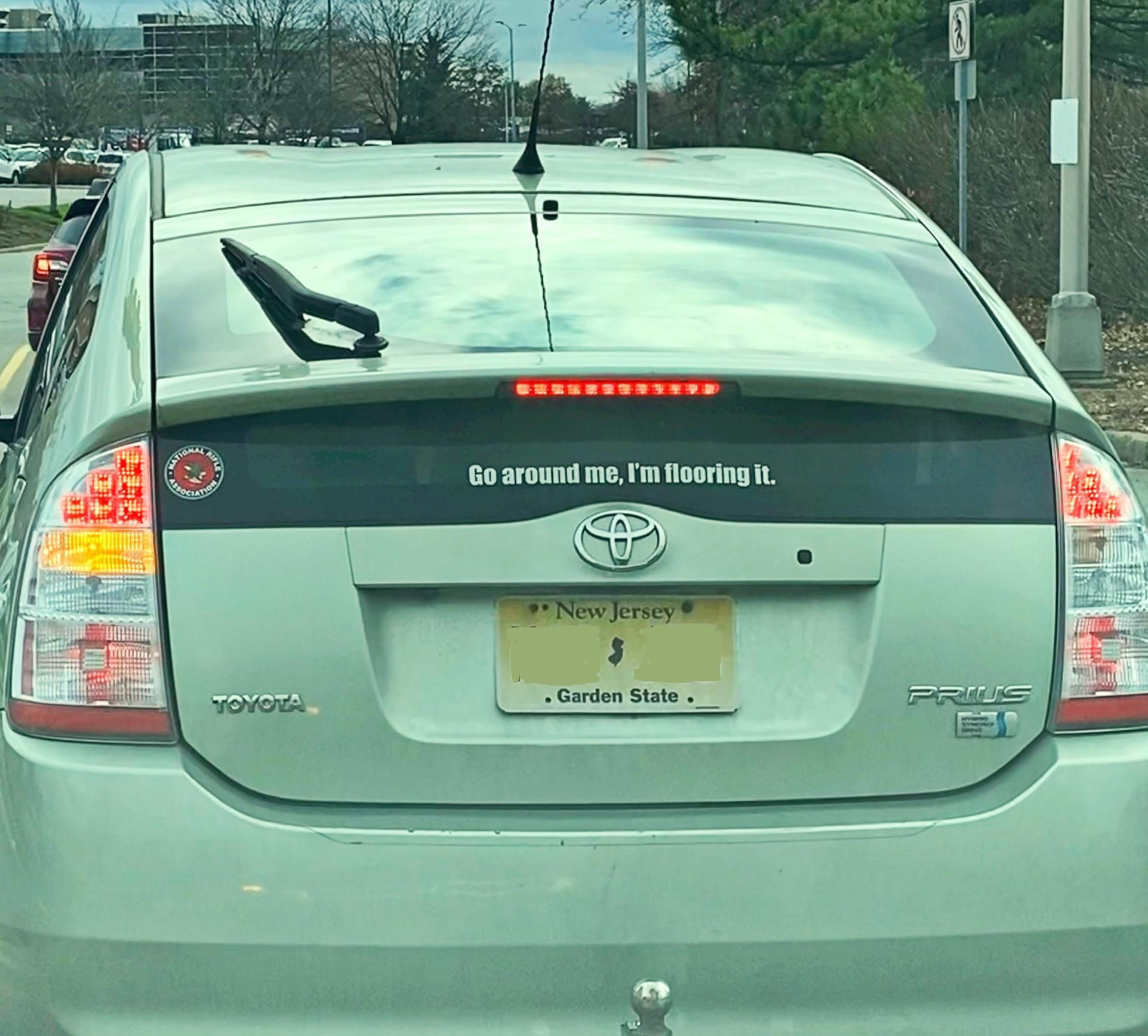 This Bumper Sticker On A Prius Https Ift Tt 37it6n7 Prius Jokes Funny Pictures Funny [ 1735 x 1923 Pixel ]