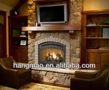 Decorativos de piedra chimenea de gas de f brica for Fabrica de chimeneas