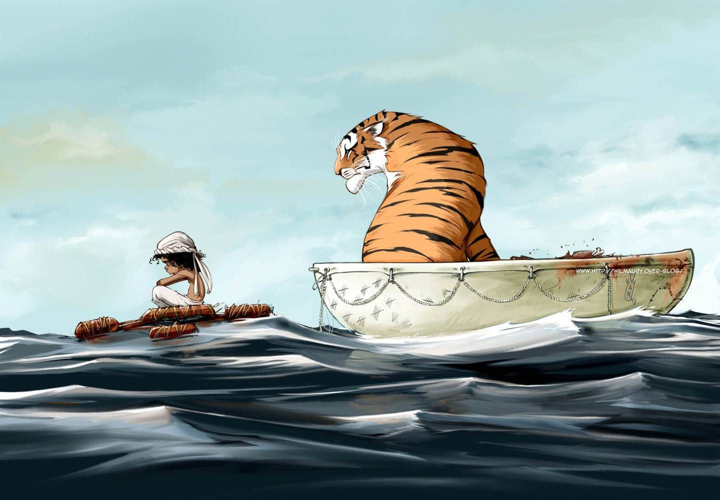 Life of pi fan art concept art pinterest fan art for Life of pi characterization