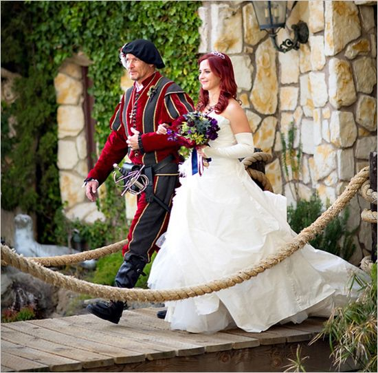 Wedding Ideas Vogue: Los Angeles Medieval Wedding Ideas