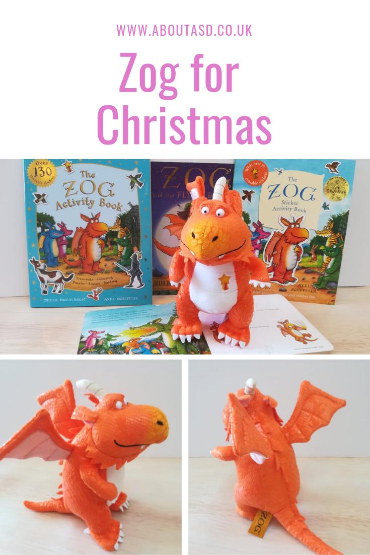 Orange Zog the dragon 9inch Plush Soft Toy