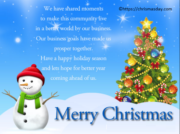 christmas greetings for business