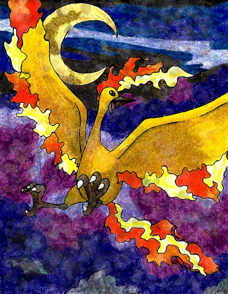Moltres By Macuarrorro On Deviantart Pok Mon Pinterest
