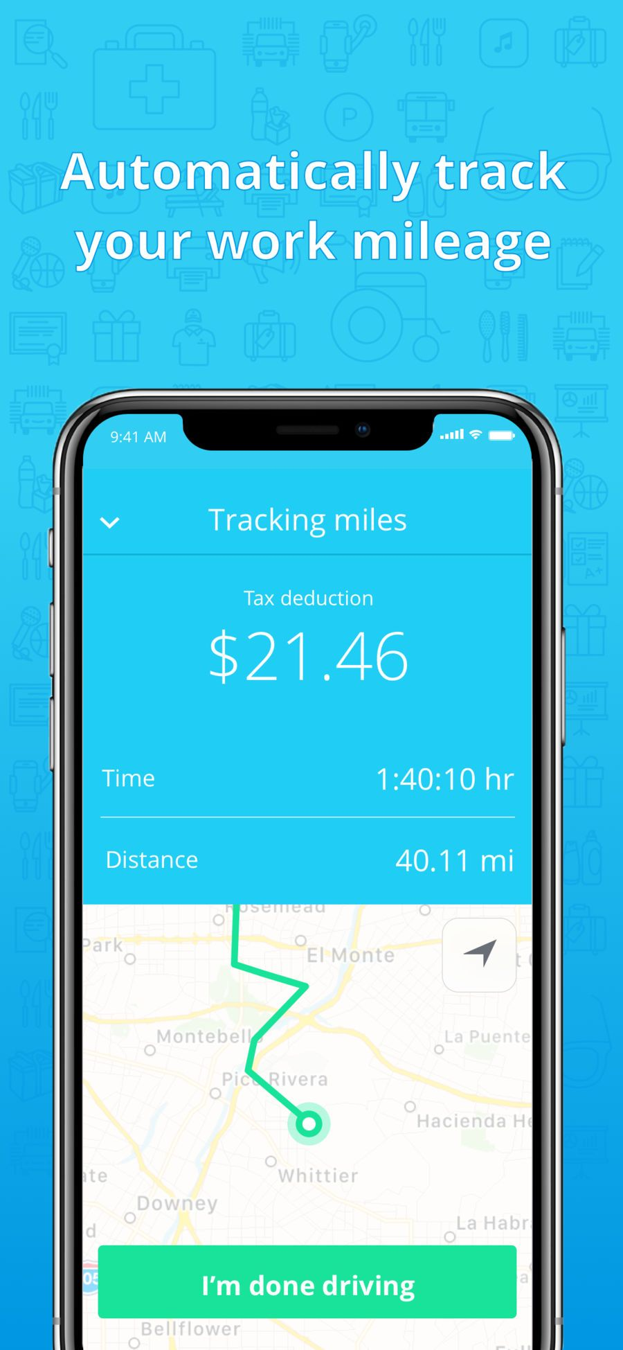 Stride Tax Mileage Tracker Productivity Finance Apps Ios Good