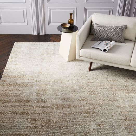 This Rug Migt Be Good To Match The Coffee Table And Couch