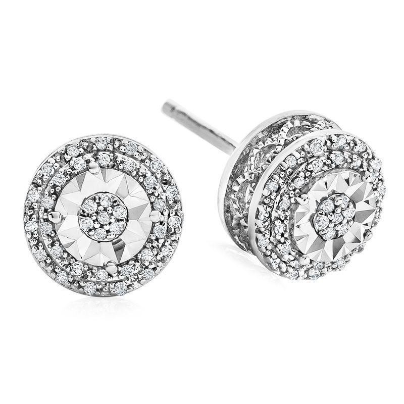 1.00ct Cushion Diamond Dangle Earrings