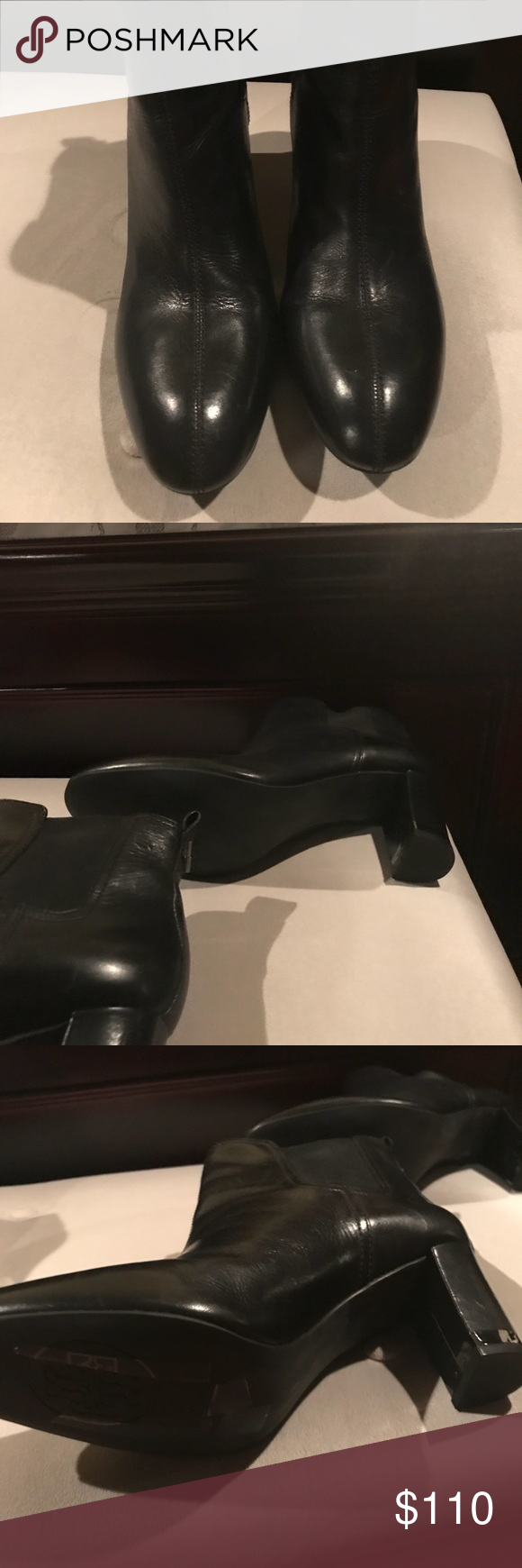 9170fac9ac15 Tory Burch April Bootie Cleaning out my closet. Barely worn great boots!!  In great shape but do not have the box. Tory Burch Shoes Ankle Boots    Booties