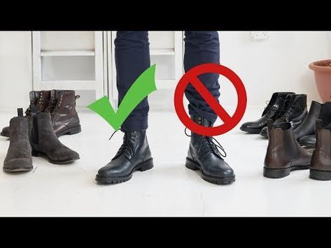 How to Style Boots This Fall | Men's Chelsea, Comb