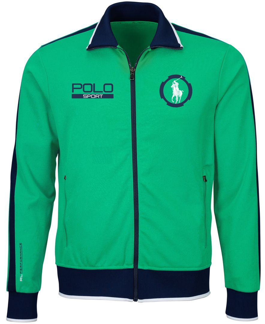 Polo Ralph Lauren Pique Track Jacket (With images) Mens