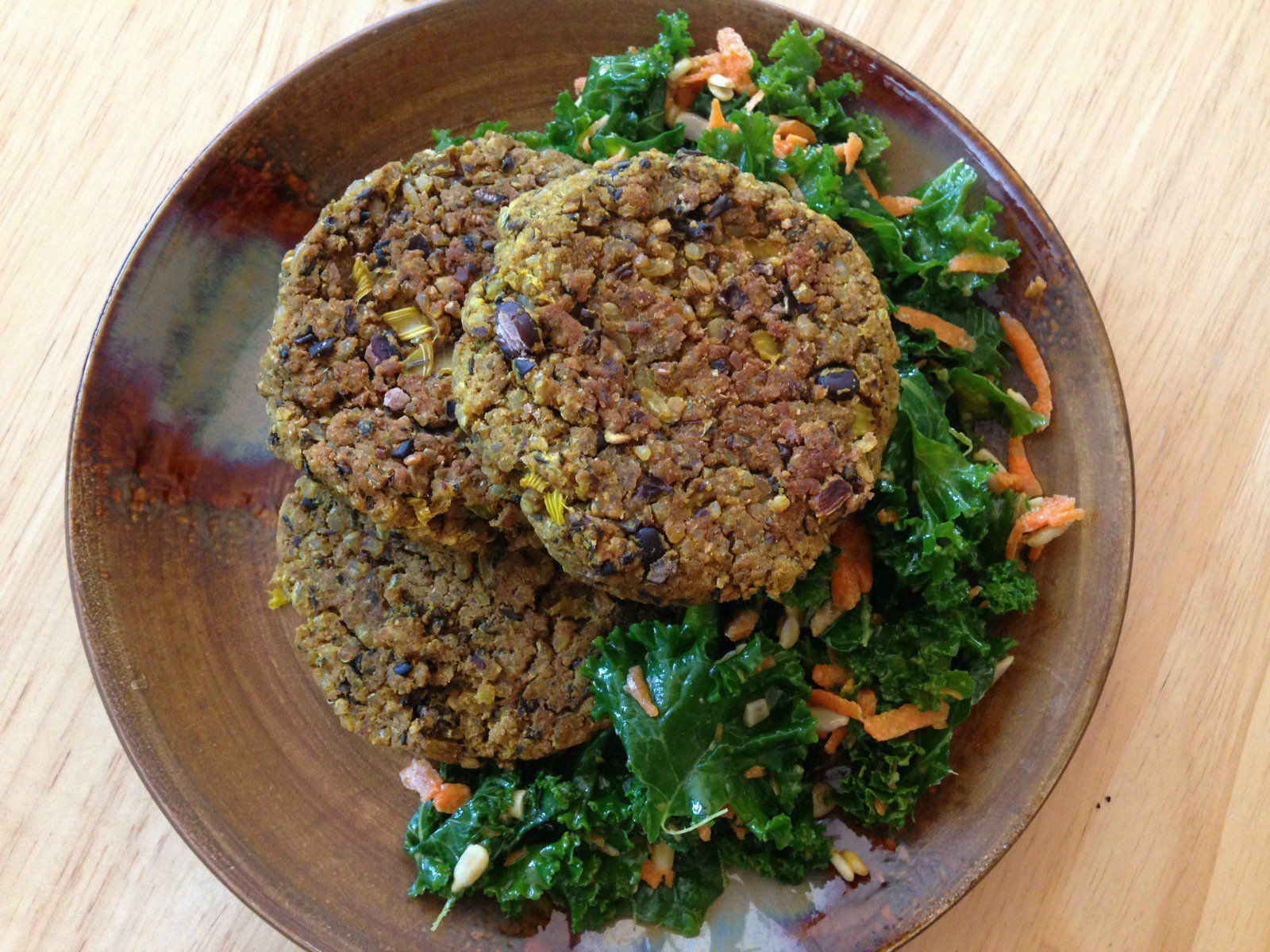 whole food plant based cooking show meatloaf