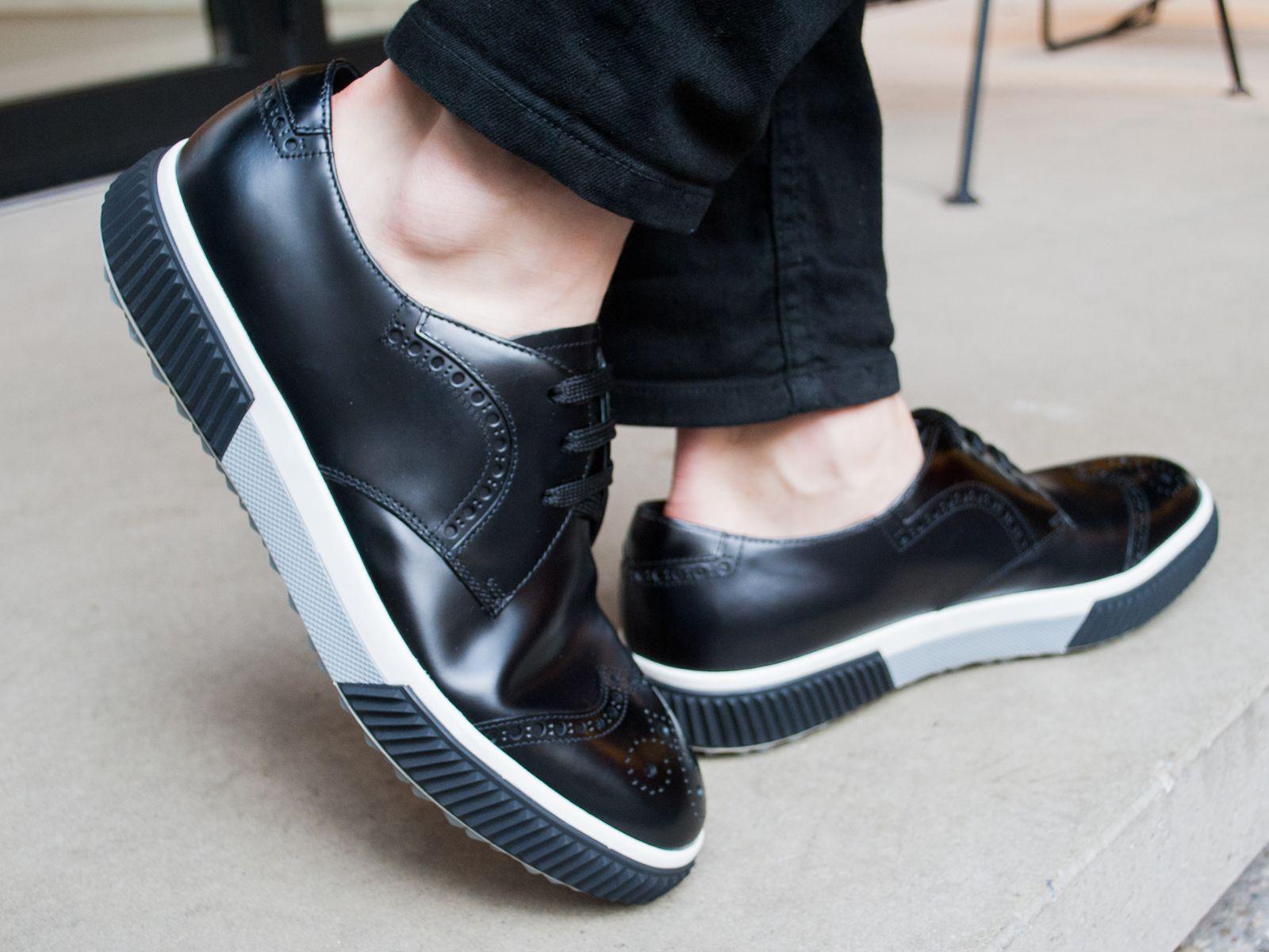 MOVE THIS WAY #prada #shoes #sneaker #sotd #acnestudios