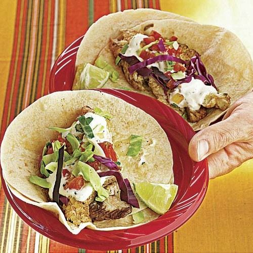 Grilled Fish Tacos Recipe Grilled Fish Tacos