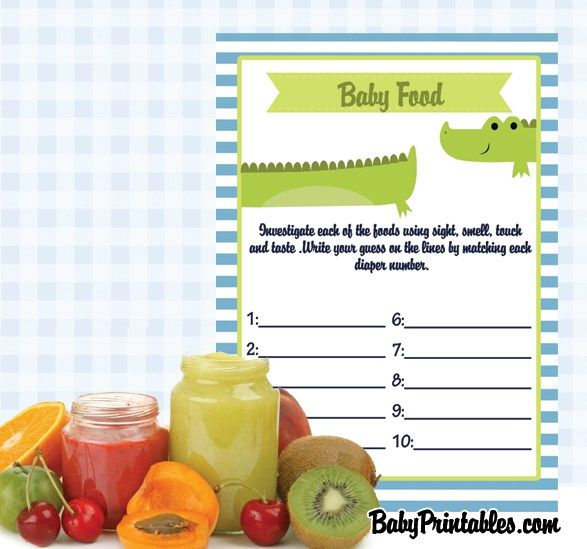 Baby Printables – Baby Shower Games, Invitation Cards, Party Supplies and Decorations