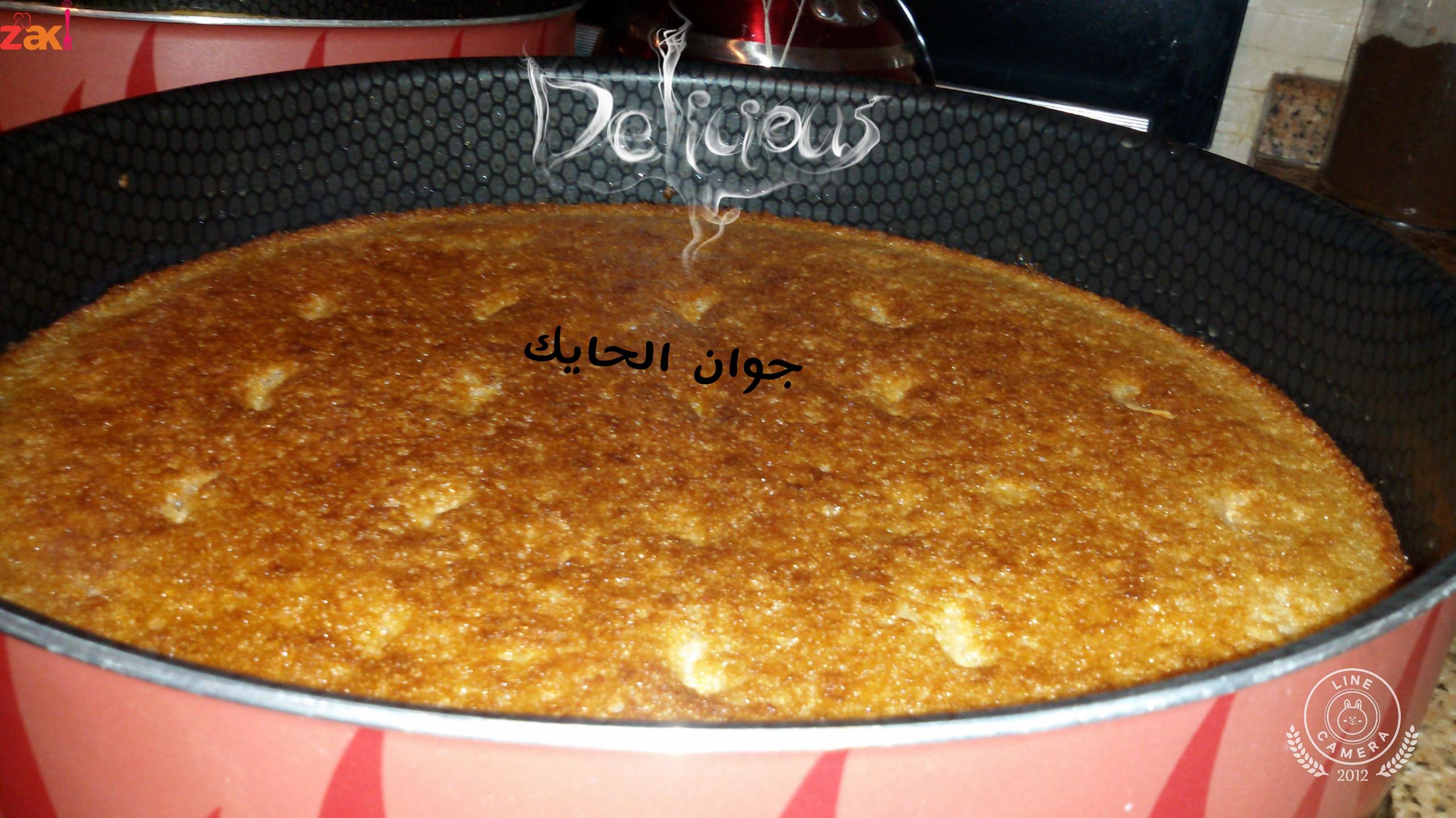 بسبوسة السبع كاسات زاكي Food Arabic Food Cooking Recipes