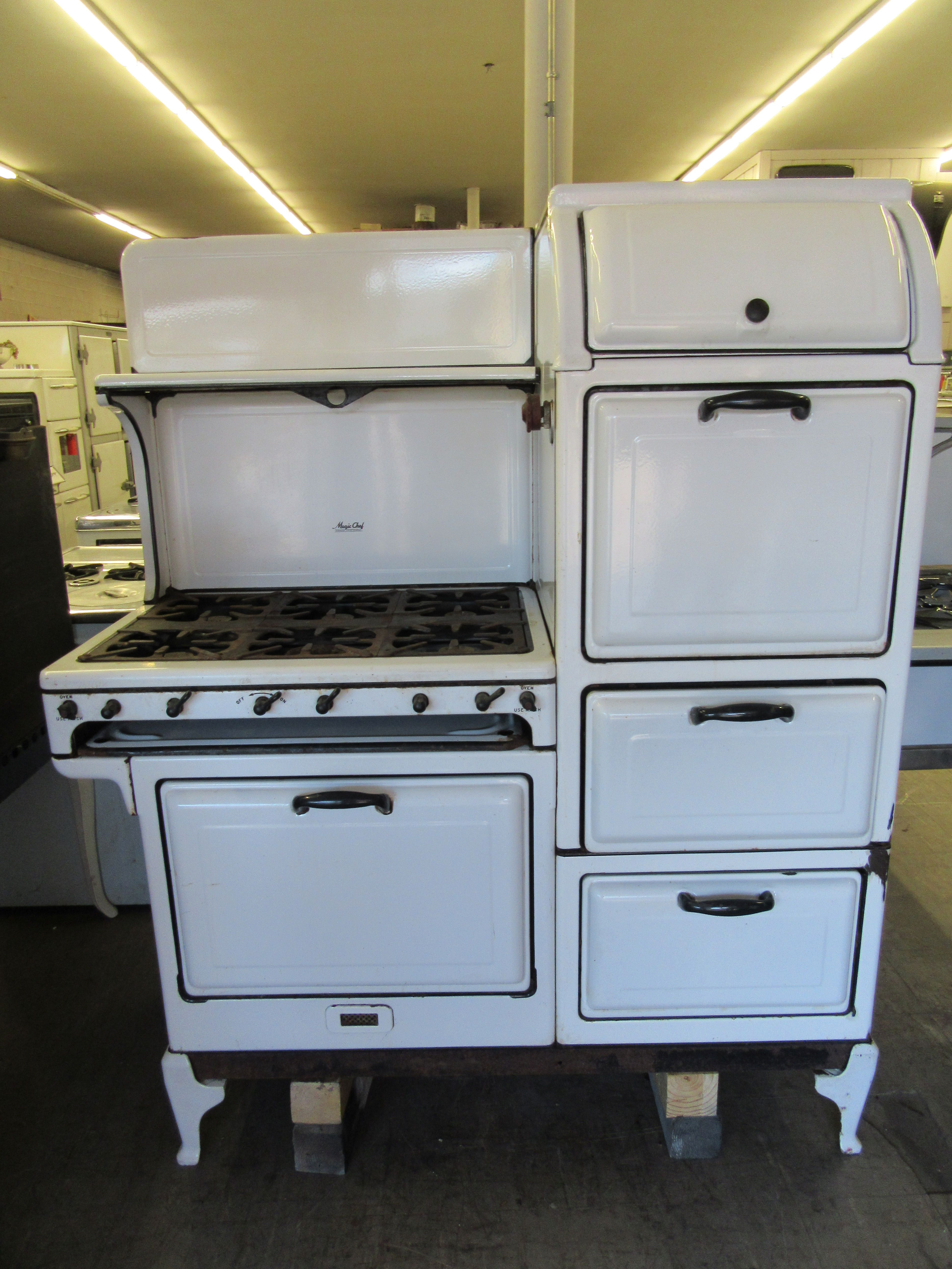 Unrestored Antique Stoves | Vintage Stoves | Antique stove