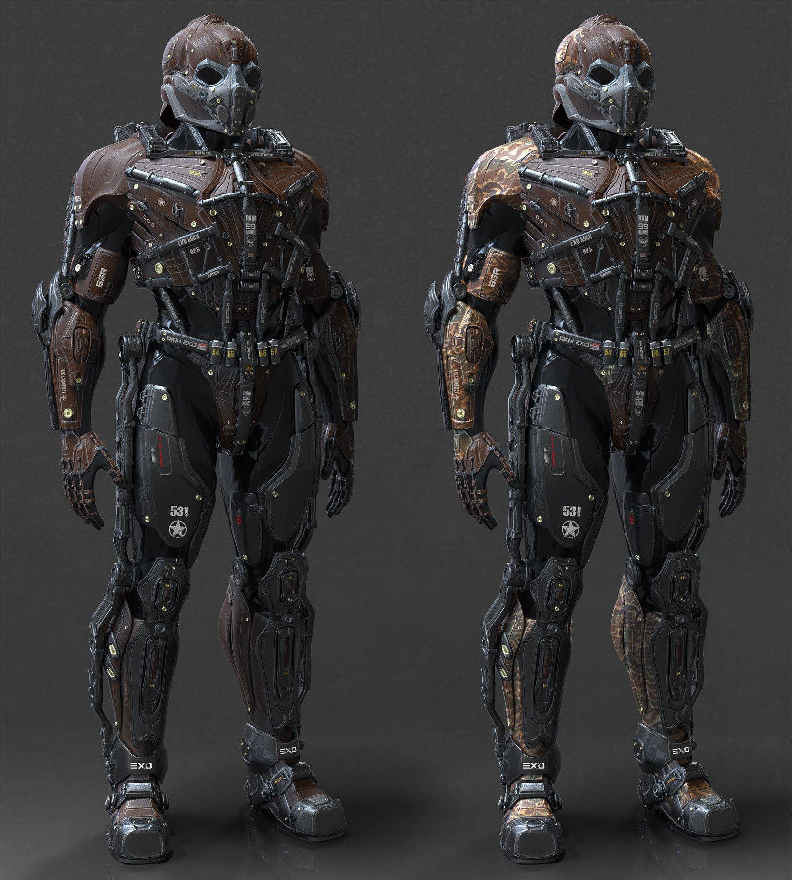 новые картинки будущих военных костюмов мужика