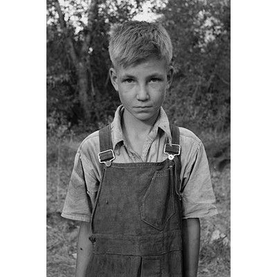 """Buyenlarge 'Squatter Boy' by Dorothea Lange Photographic Print Size: 30"""" H x 20"""" W"""