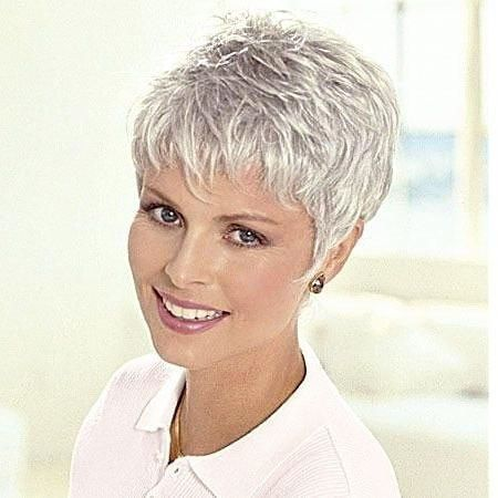 Pin By Glenda Hernandez Massardo On Hair In 2020 Short Grey Hair Short Hair Styles Pixie Short Hairstyles Over 50