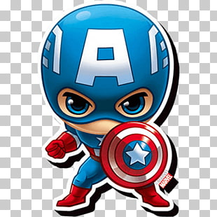 Capitan Americano Ilustracion De Vinilo Capitan America Hombre De Hierro Thor Hulk Nick Furia Chimic Marvel Cartoon Drawings Superhero Wallpaper Chibi Marvel